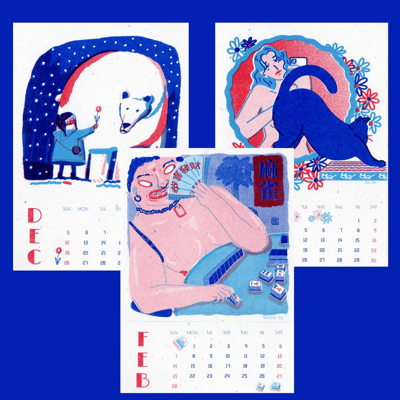 LMP Risograph 2021 Calendar