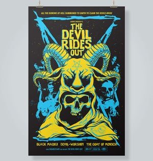 Image of The Devil Rides Out Movie Poster