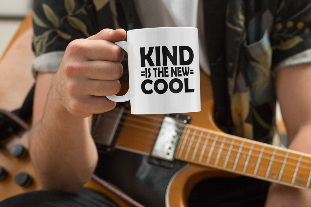 Image of Kind is the New Cool Kindness Coffee Mug