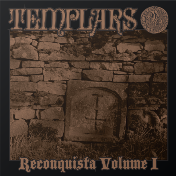 Image of THE TEMPLARS - Reconquista Vol. 1 LP