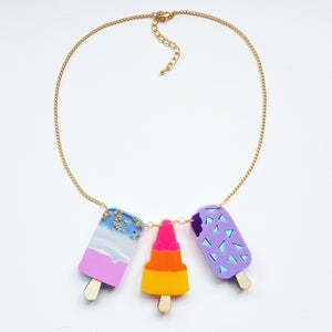 Image of Triple Ice Cream Necklace