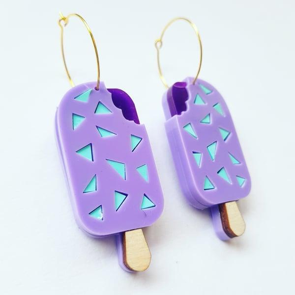Image of Feast Ice Cream Earrings.