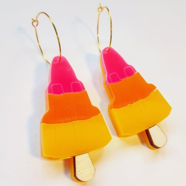 Image of Rocket Lolly Earrings