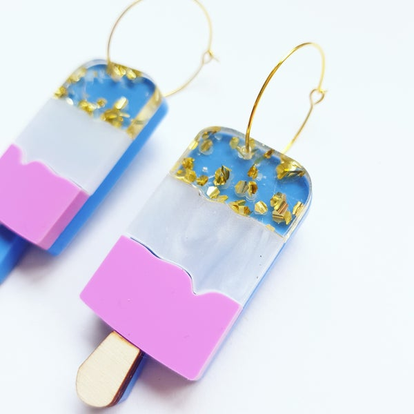 Image of Fab Ice Lolly Earrings - PRE-ORDER