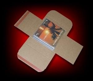 Image of 10 Emballages postaux modulables pour 45 Tours [1 à 20 vinyles]