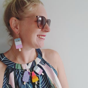 Image of Fab Ice Lolly Earrings,.