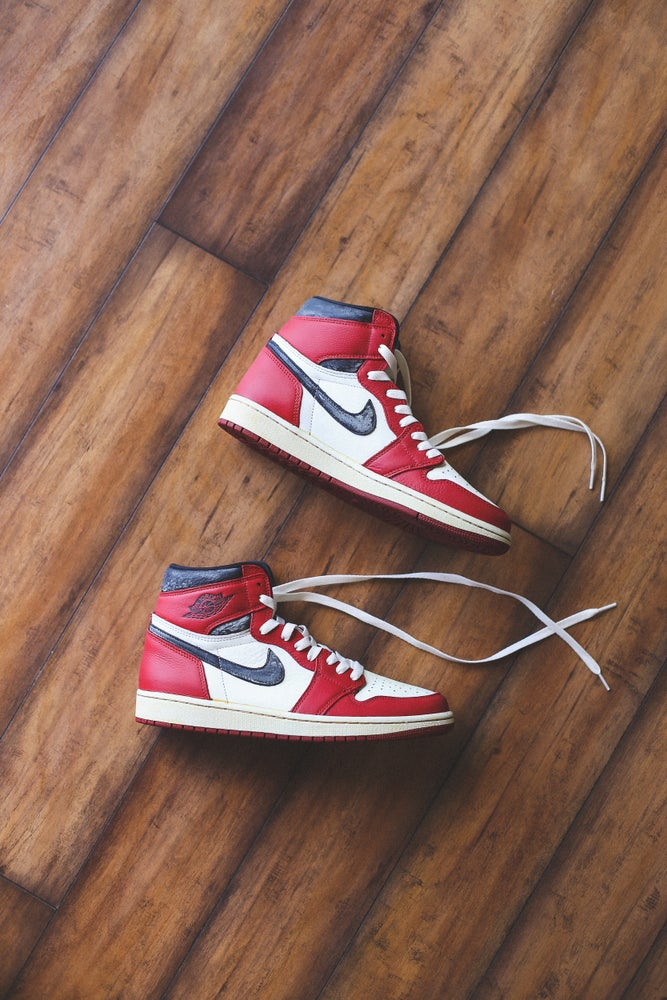 "Image of Jordan retro 1 high Chicago ""85 inspired"""