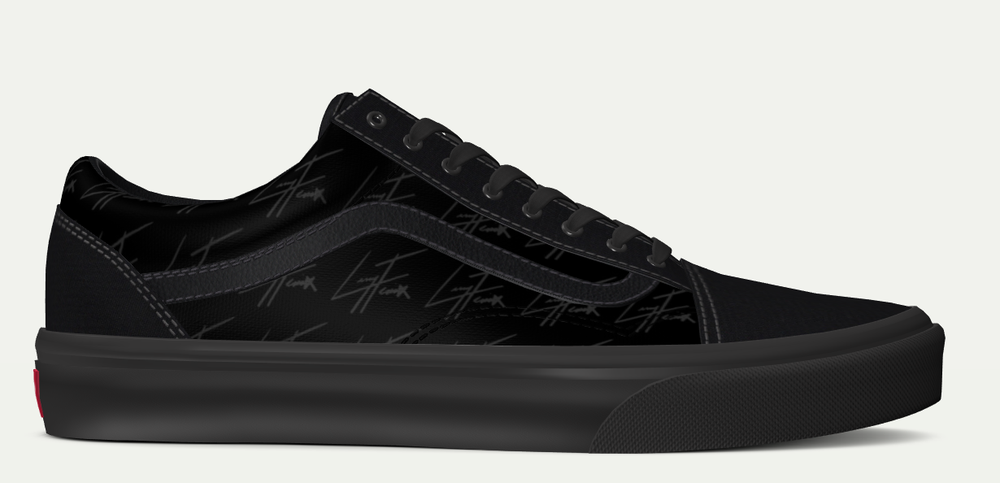Image of Larry Fenix Signature Vans - Old Skool