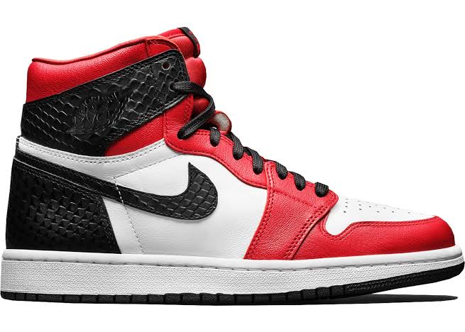 Image of Jordan 1 Snake Satin