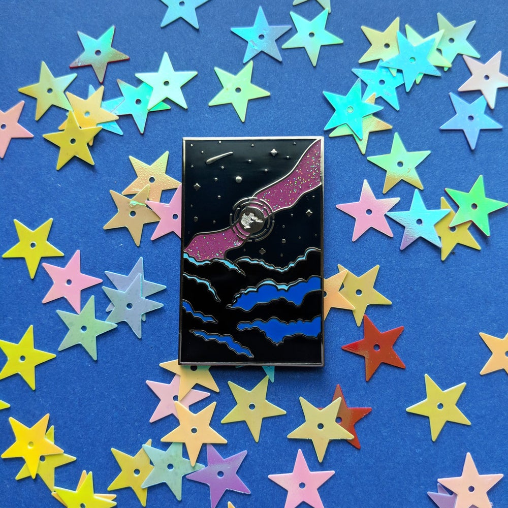 Image of Magical Night Sky Enamel Pin