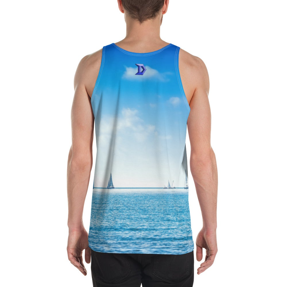 Image of Unisex Tank Top- Ocean