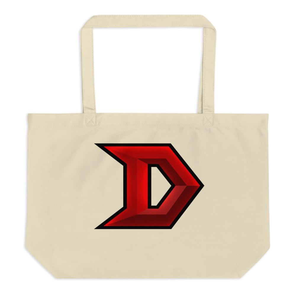 Image of Large organic tote bag