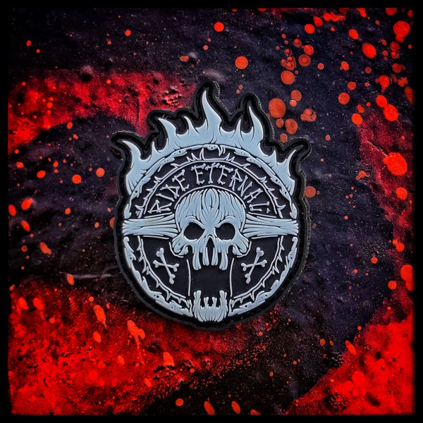 Image of Ride Eternal glow pvc patch