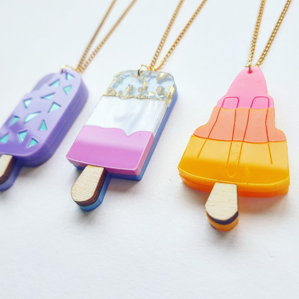 Image of Individual Ice Lolly Necklaces - PRE- ORDER