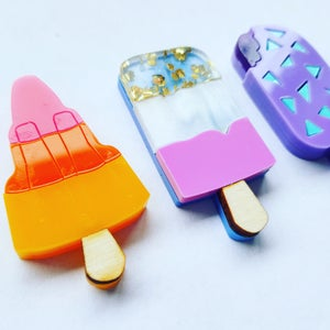 Image of Individual Lolly Brooches