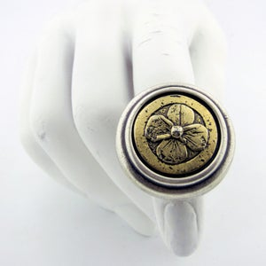 Image of The Irish Flower medium sized Cocktail ring