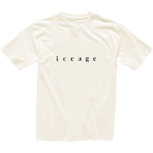 Image of Iceage Calligraphy T-shirt
