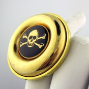 Image of Skull & Bones Oversized Cocktail Ring