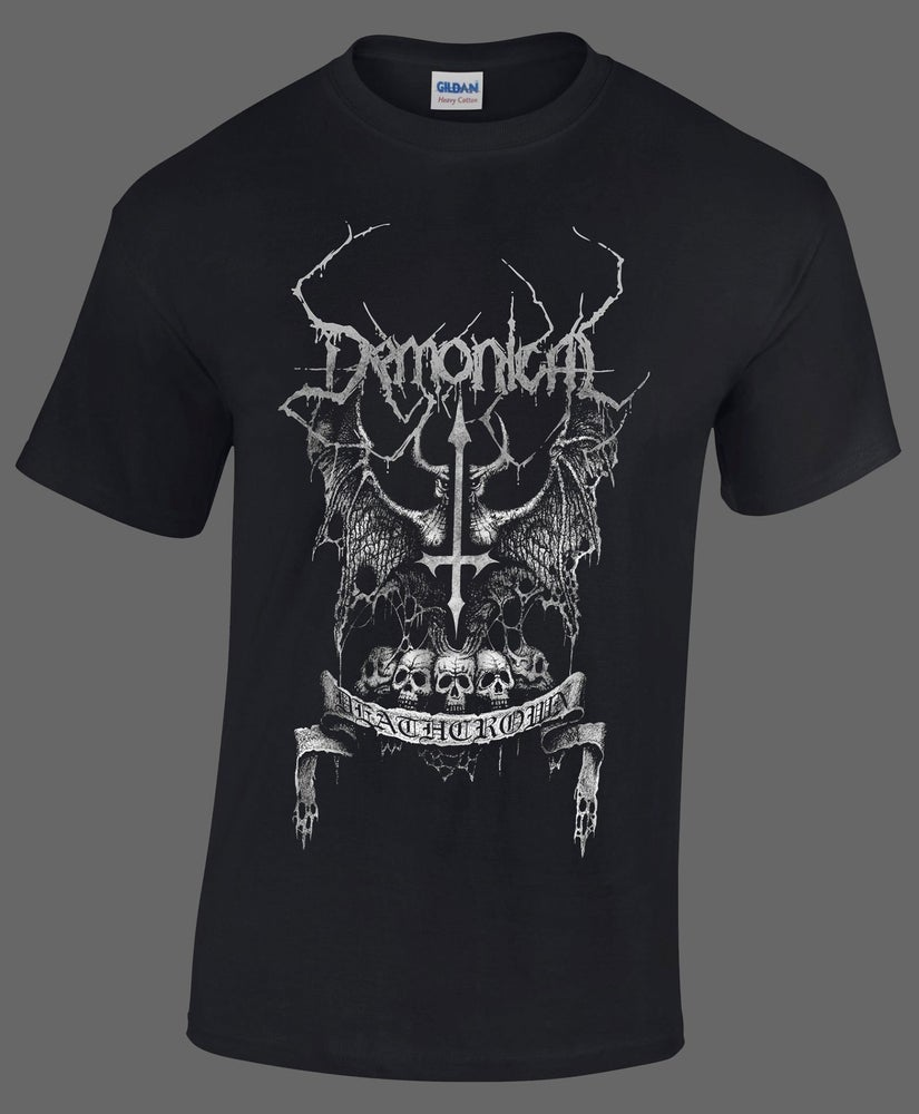 Image of DEATHCROWN T-SHIRT