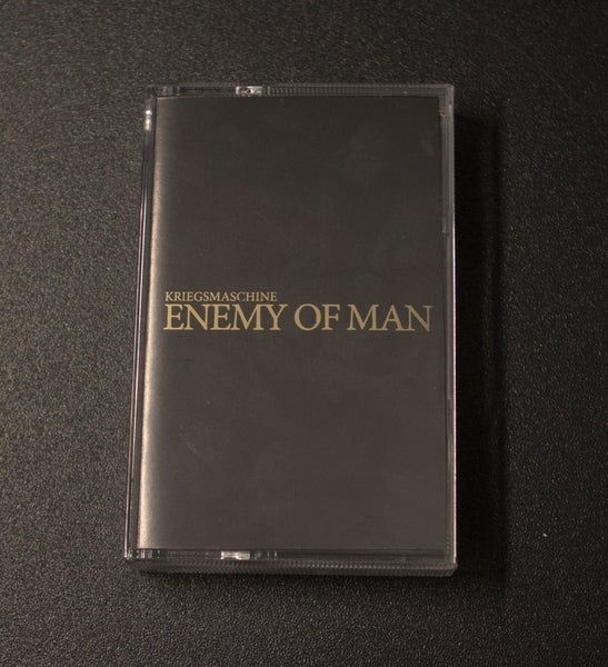 Image of KRIEGSMASCHINE - 'Enemy of man' TAPE