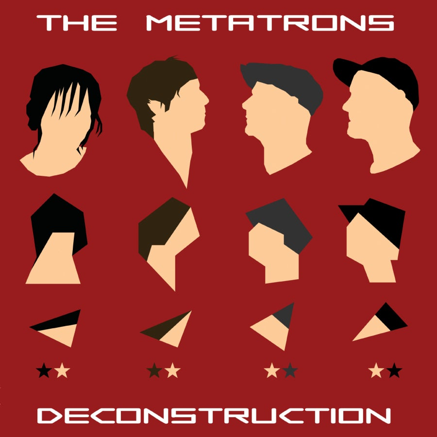 Image of The Metatrons - Deconstruction CD and Limited Edition Art Print (30cm x 30cm)