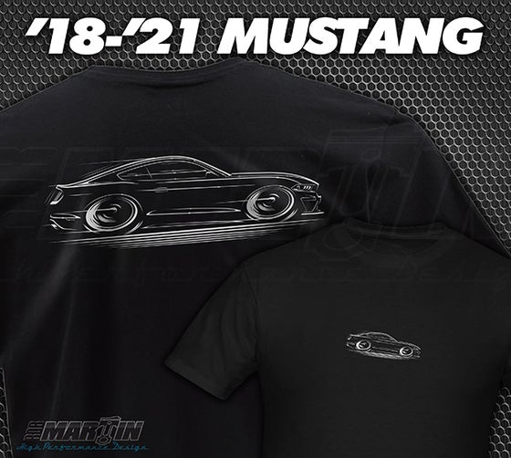 Image of '18-'21 Mustang T-Shirt Hoodies Banners