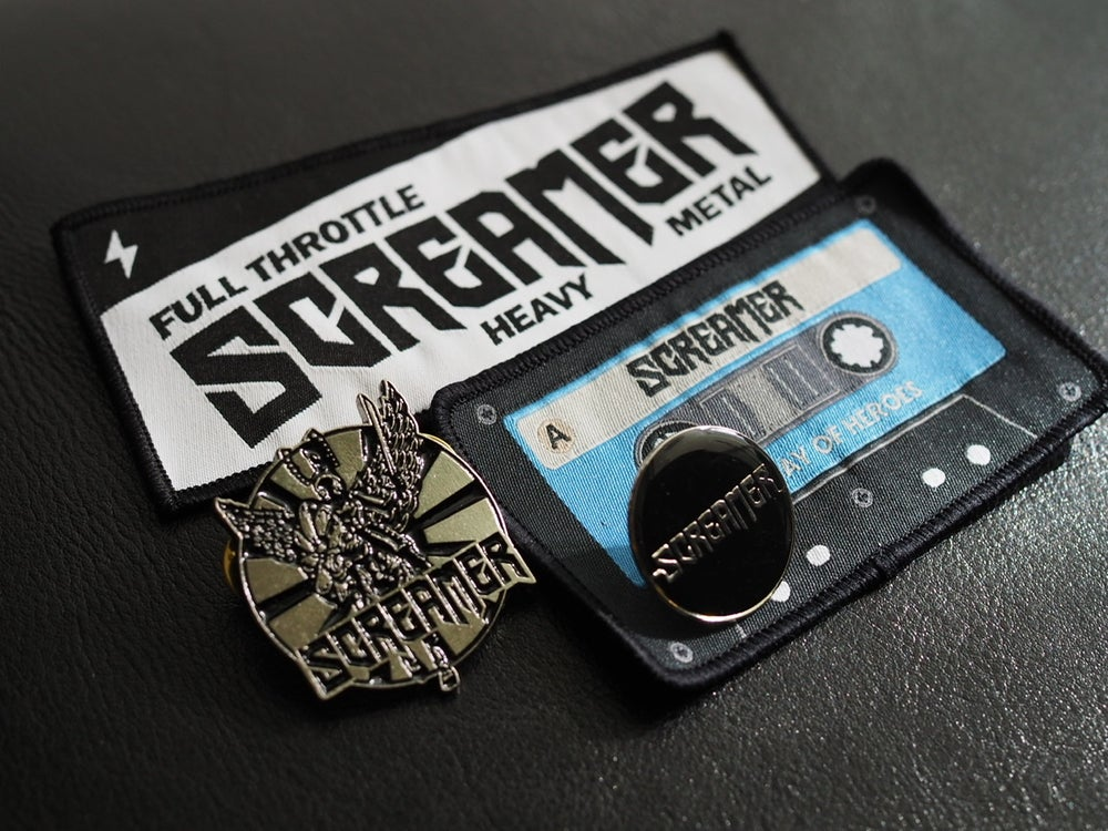 Image of Pin and patch bundle