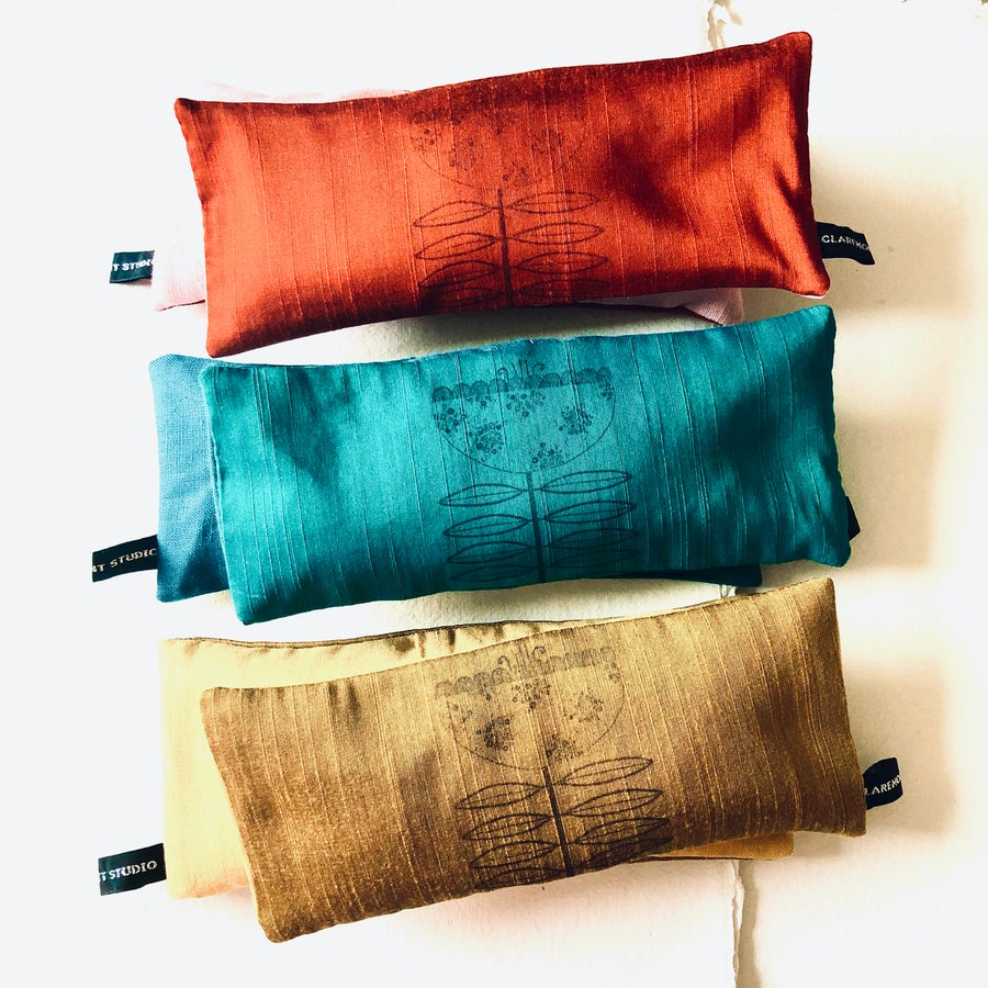 Image of Colour Block Yoga Eye Pillow