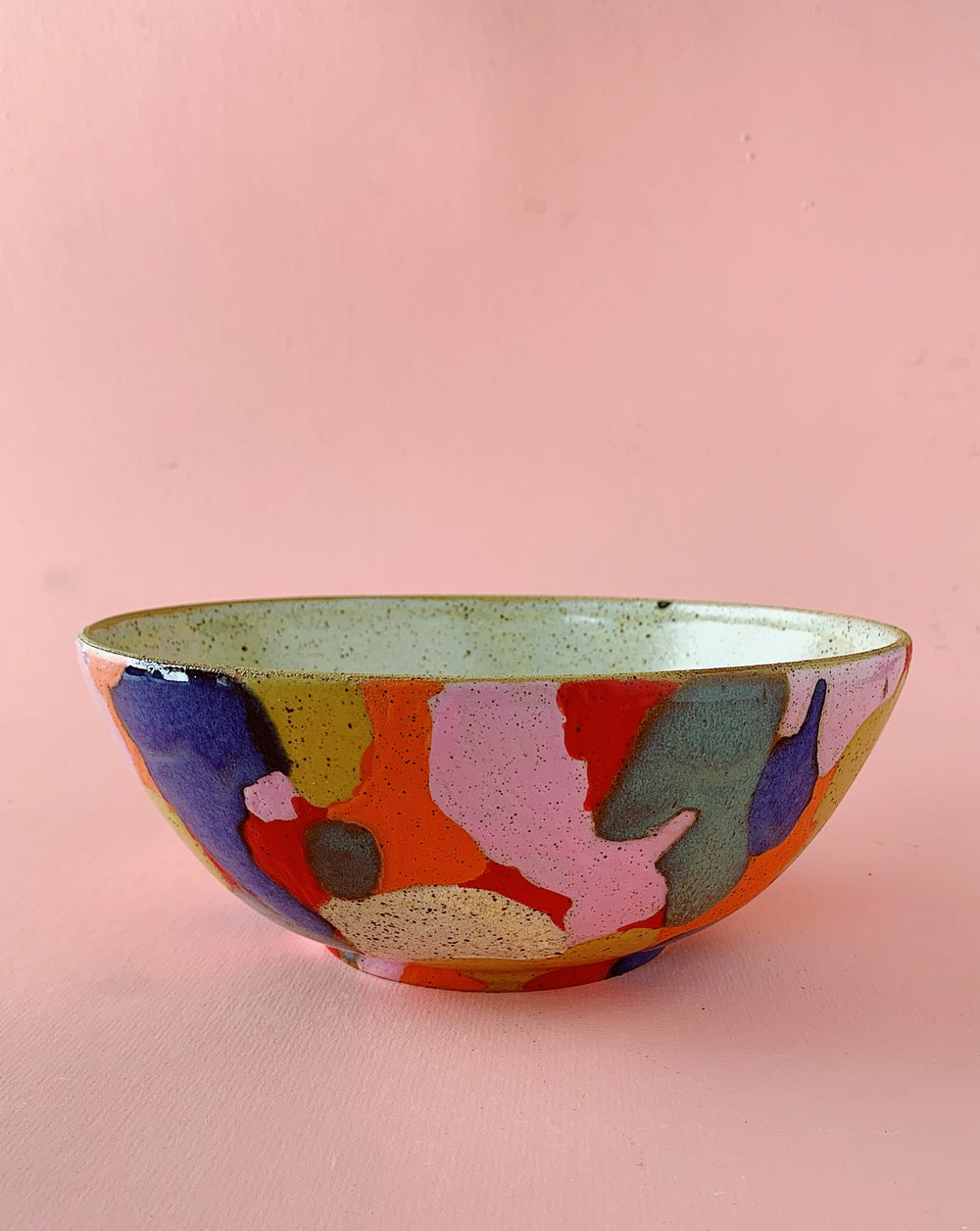 Image of Calico Serving Bowl