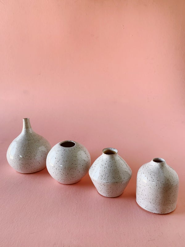 Image of Small bud vases