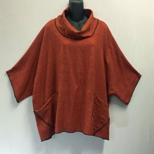 Image of Matka Silk - Wing Top - One Size (fits small to Plus) - with Pockets