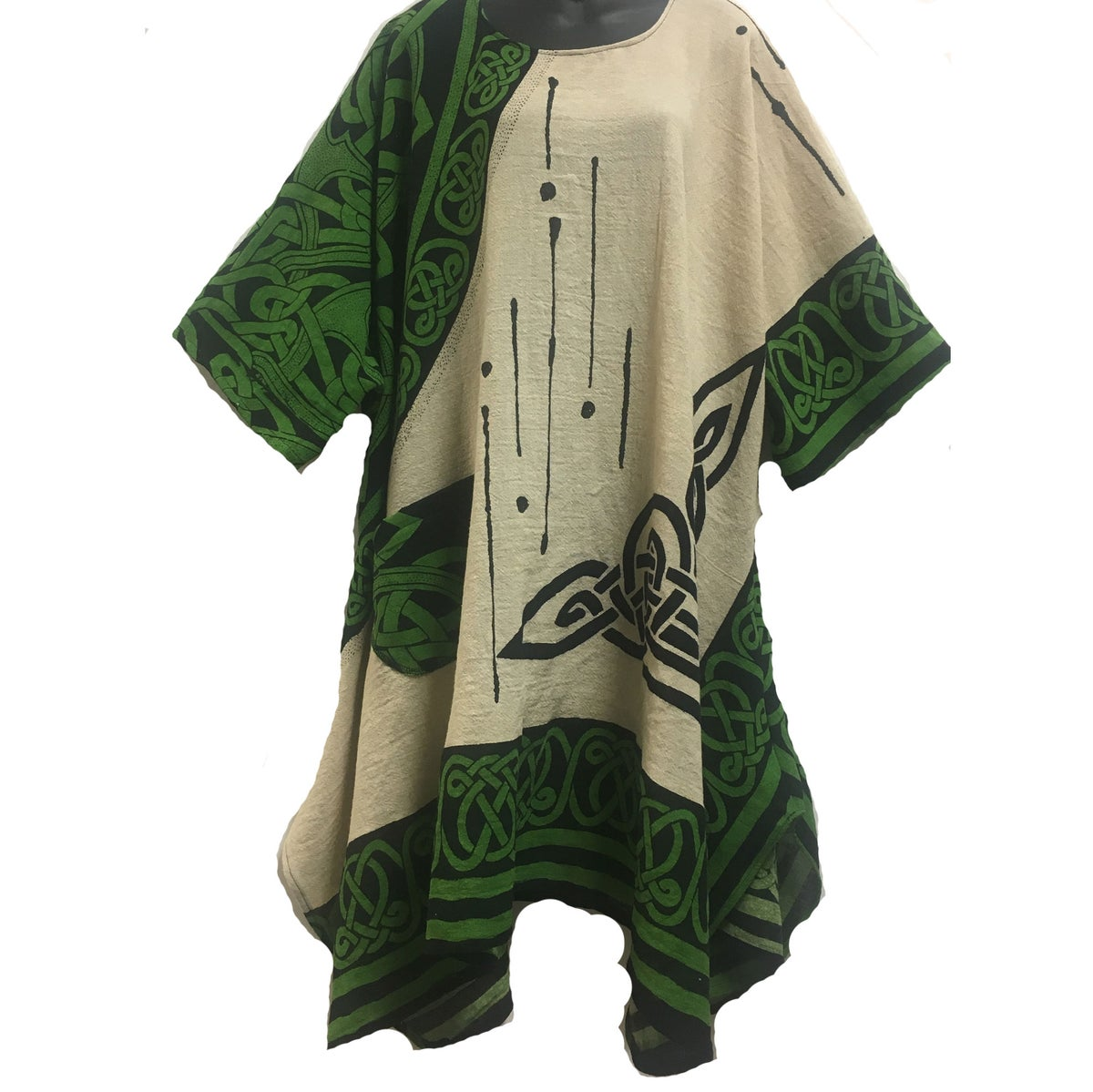 Image of Perfect Dress/Tunic - Cotton - Hand Block Printed - Hand Woven