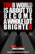"""Image of """"A WHOLE LOT BRIGHTER"""" POSTER"""
