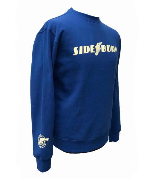 Image of Flat Track Crewneck Sweat - Blue