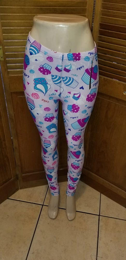 Image of One size cupcake leggings