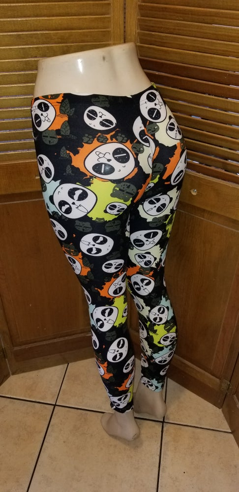 Image of One size panda Leggings