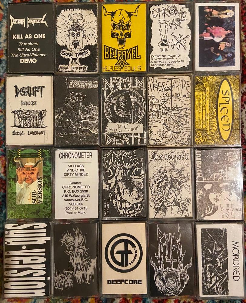 Image of Tapes-Original Demo Tapes