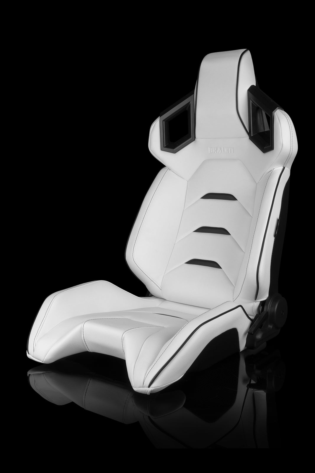 Image of Alpha X Series - White with Black Piping/Accents