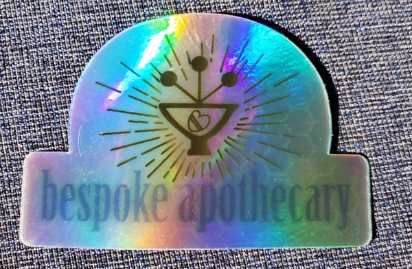 Image of Bespoke Apothecary sticker!❤🌱
