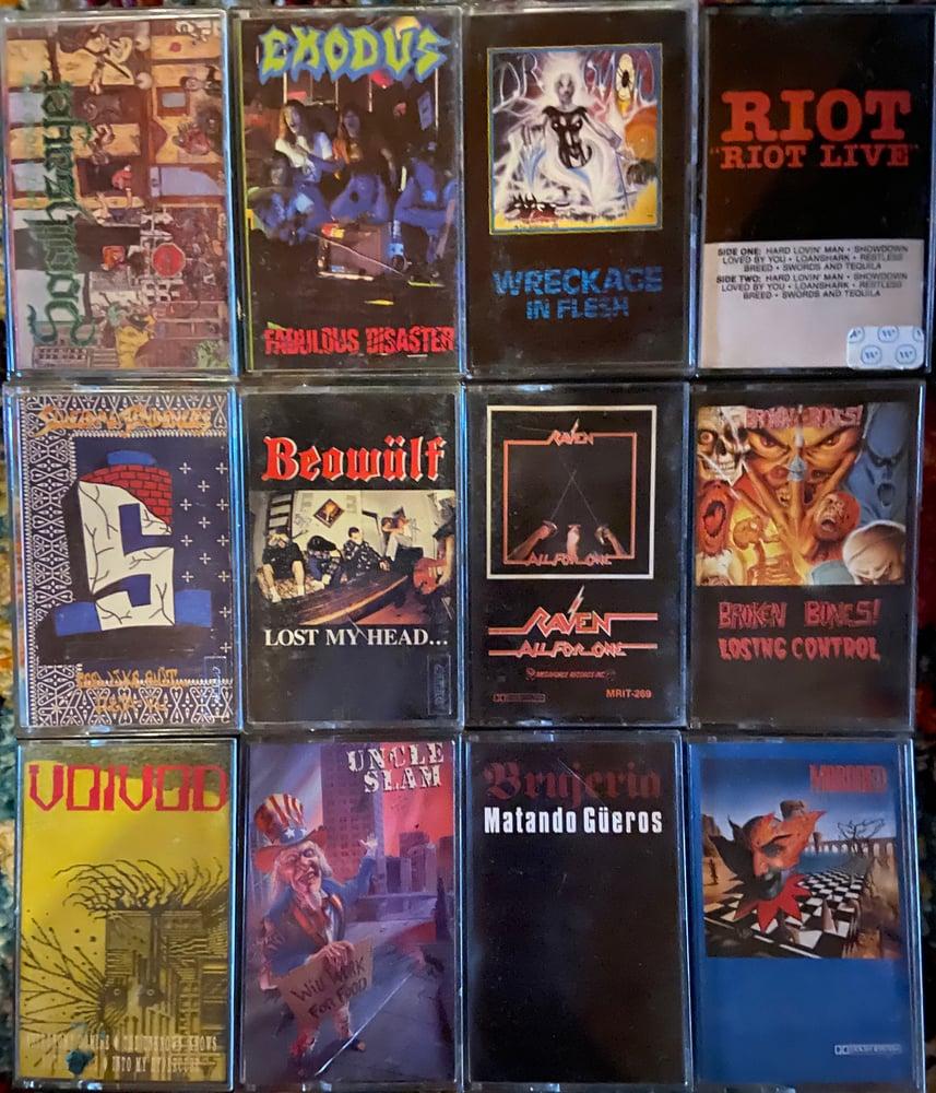 Image of Original Cassette Tapes
