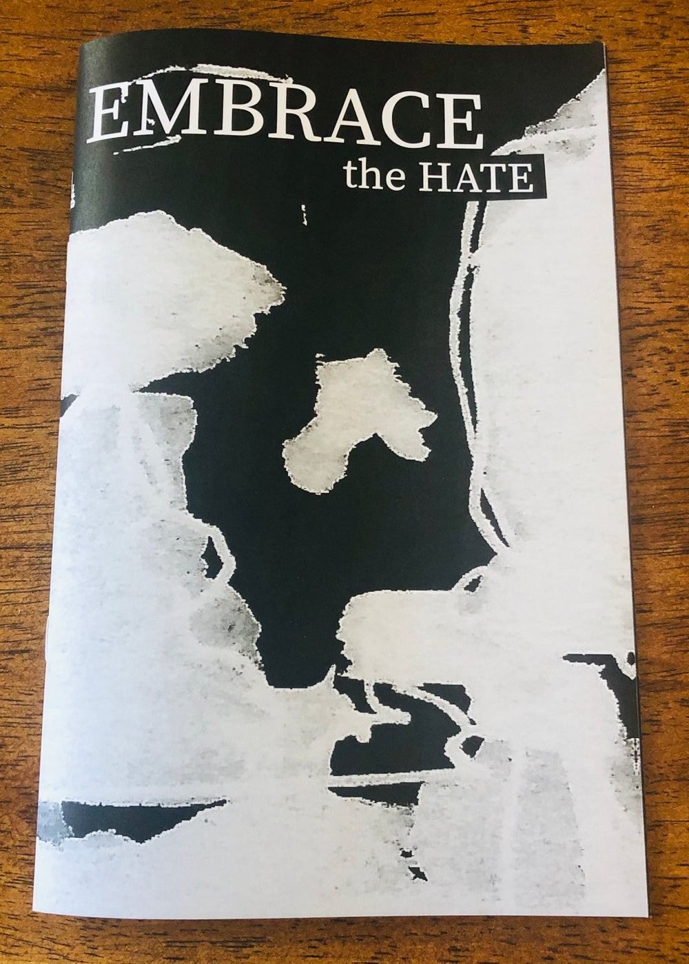 Image of Embrace the HATE issue 1   Summer 2020 (Fluke Publishing)