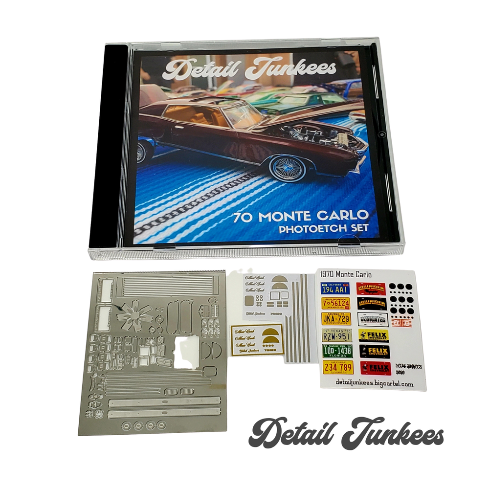 Image of 70 Monte Carlo Photo Etch Set
