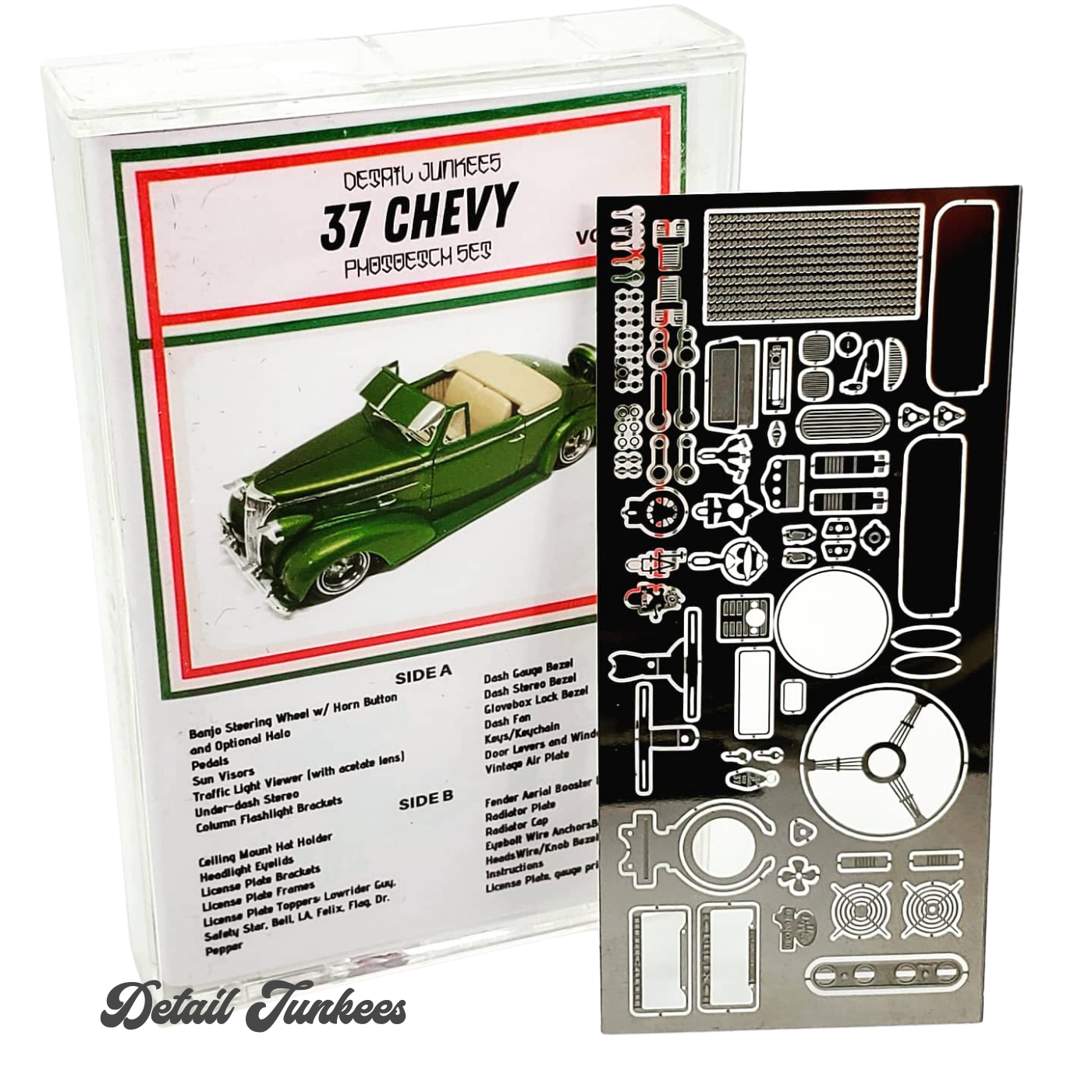 Image of 37 Chevy Photo Etch Set