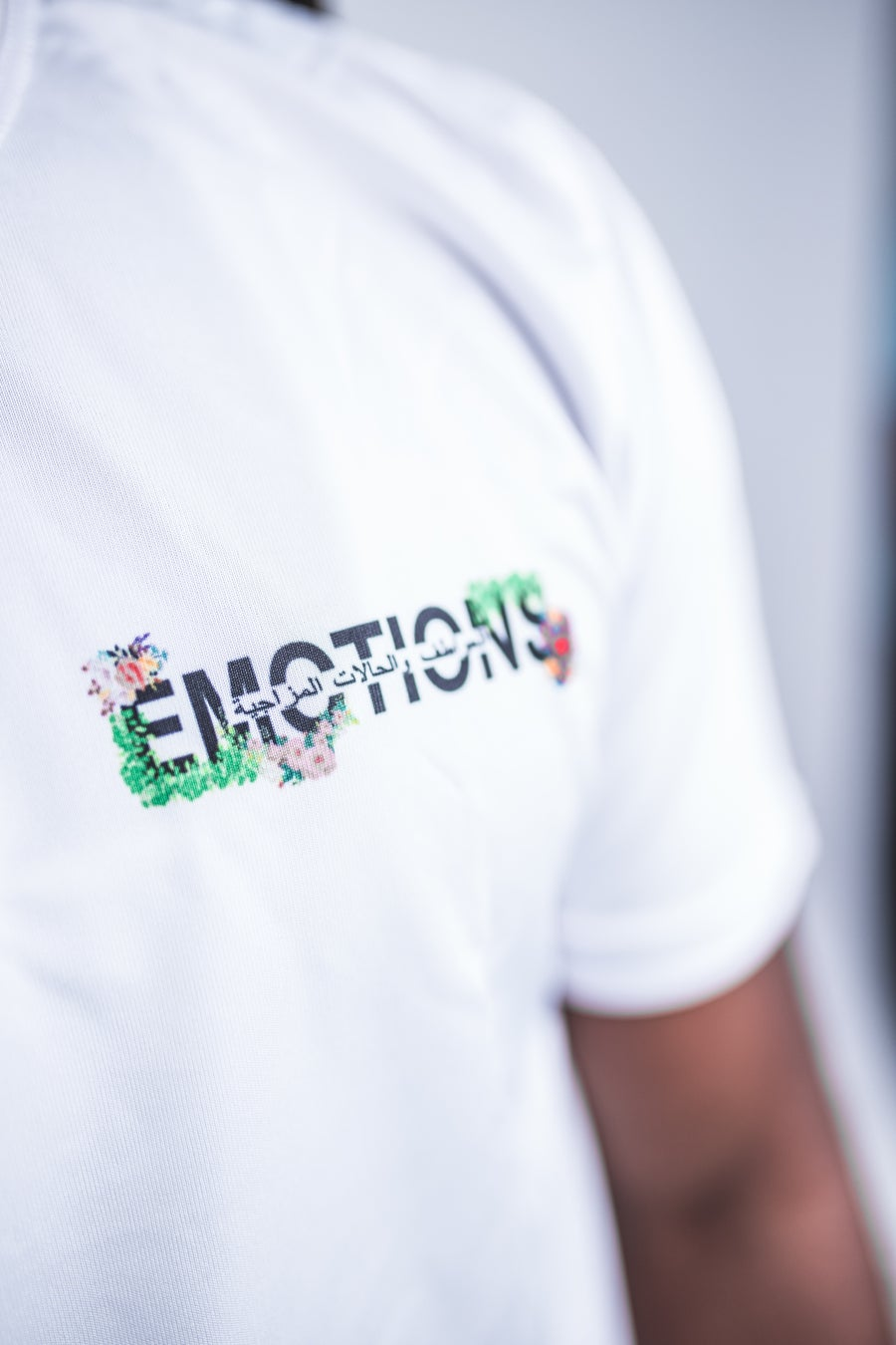 Image of White 3rd Generation emotions Flower Shirt