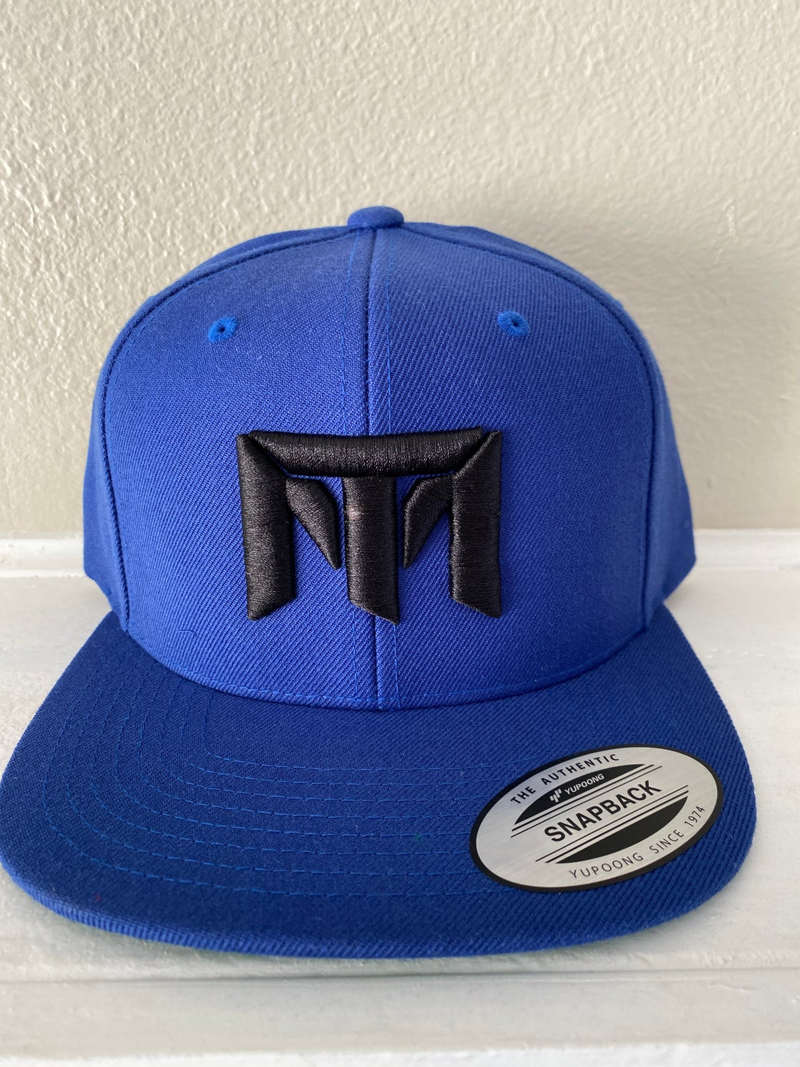 Image of MT Logo Hat (Blue/Black