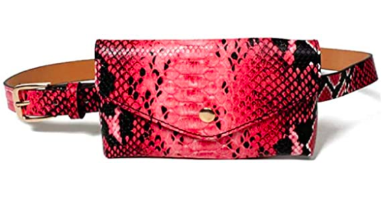 Image of Red Anaconda Fanny Pack