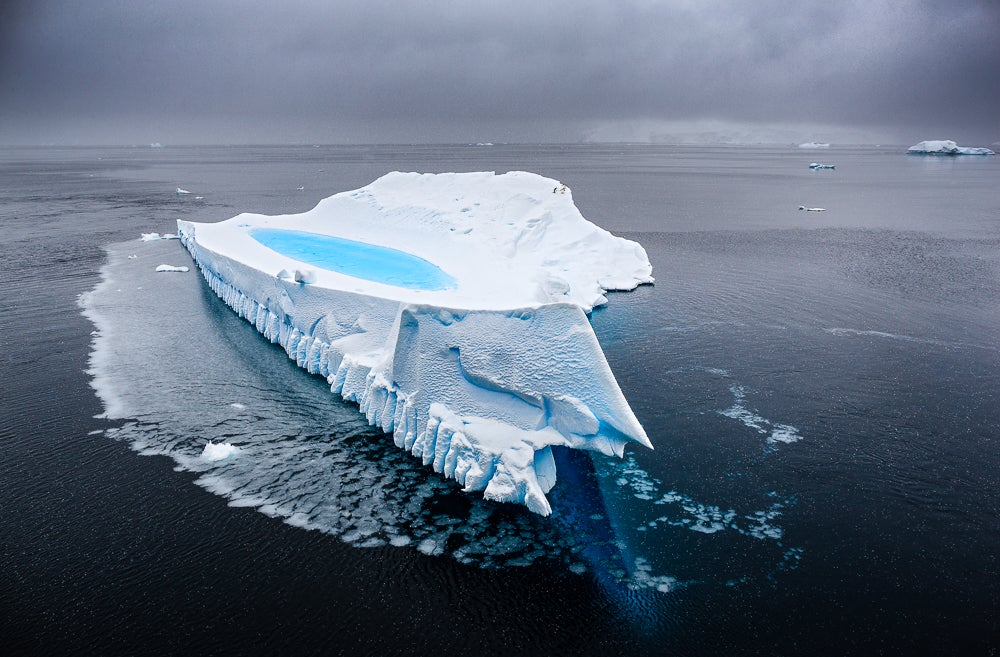 Image of Iceberg Fine Art Greeting Cards