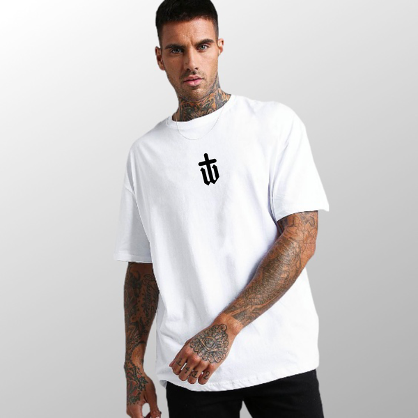 Image of OVERSIZED WHITE TEE