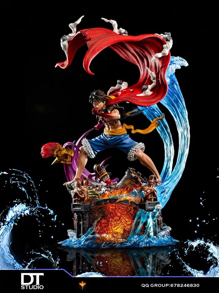 Image of [In-Stock][Last-Stock]One Piece Dt Studio Luffy Resin Statue