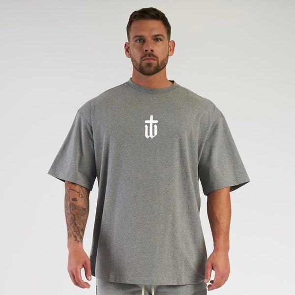Image of OVERSIZED GREY TEE